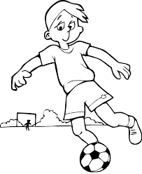 Soccer Free To Color For Kids Soccer Kids Coloring Pages