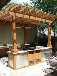 Beautiful Build A Patio Bar Idea For Outdoor Kitchen Throughout Creativity Design