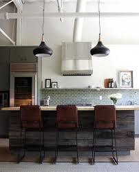 kitchen loft design. kitchen design with island and cork floor loft h