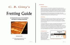 deciding whether to fret your cigar box guitar c b gitty s fretting guide
