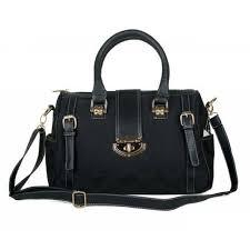 Coach Willis Lock Logo Signature Medium Black Luggage Bags BRH