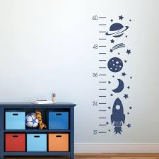 space decals for walls rocket growth chart decal outer space decor wall  decals zoom wall decals . space decals for walls ...