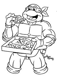 Free Ninja Turtle Coloring Pages To Print Ninja Turtles Coloring