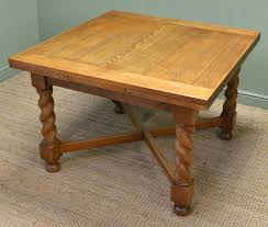 Edwardian Kitchen Quality Antique Edwardian Solid Oak Extending Kitchen Table