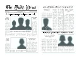 Old Newspaper Article Template Old Newspaper Template Word Skincense Co