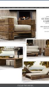 classic modern outdoor furniture design ideas grace. Outdoor Furniture From Restoration Hardware, But I Have A Handy Hubby That May Put Classic Modern Design Ideas Grace
