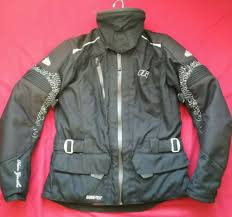 las hein gericke goretex tourer gtx motorcycle jacket uk size 10 eu 38
