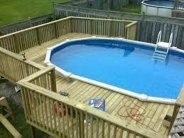 prefab above ground pool decks pool decks prefab deck kit prefab pool decks above ground wood