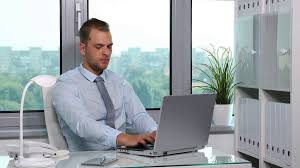 person office. Businessman Typing On A Computer Laptop Keyboard Busy Man Working In Office Room Stock Video Footage - Videoblocks Person F