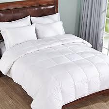 duvet insert full. Lightweight Down Comforter Duvet Insert Cotton 550 Fill Power, White, Full/Queen Size Full O