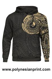 Hoodies Designed By Artists Micronesia All Over Print Hoodie Yap In My Heart Gold