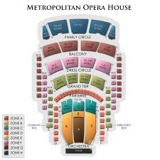 Metropolitan Opera House Theatre Seating Chart Theatre In