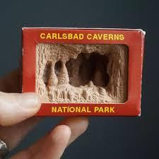 <b>Vintage</b> Shadow Box <b>Souvenir</b> Carlsbad Caverns National Park Mini ...