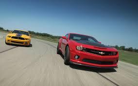 2013 Chevrolet Camaro SS 1LE vs. 2013 Ford Mustang Boss 302 ...