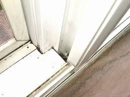 sliding door track easy clean windows patio door track sliding door lubricant sliding glass door repair