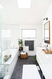 modern bathrooms ideas. Modern Bathroom Design With Subway Tiles \u0026 Glass Door Bathrooms Ideas