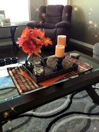It was a quick and simple way to give my table in the living room a little piz. 30 Ideas For Fall Decorations On The Coffee Table In The Living Room Interior Design Ideas Ofdesign
