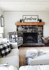 modern farmhouse family room update