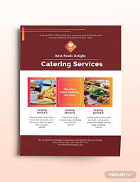 Catering Flyer Template Download 181 Flyers In Microsoft Word