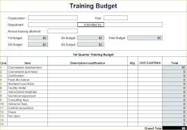 Sample Nonprofit Operating Budget Format Annual Non Profit Template
