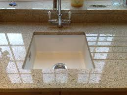 countertops how to install a undermount kitchen sink five star