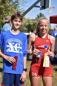TEC All-Conference XC - Luke Bantz, Priscella Kelly, Lady Pats 3rd -  Whitewater Publications