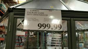 costco hex aluminum greenhouse 999