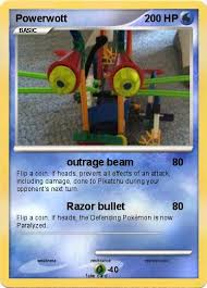 here is a pic of a fake pokemon card that you can make at make your own pokemon card and you can print