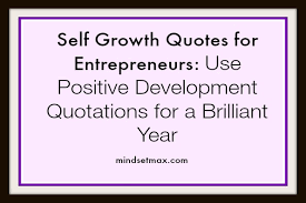 Self Growth Quotes Adorable Self Growth Quotes For Entrepreneurs And Small Business Owners
