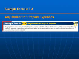 In accounting there is term unexpired insurance. Adjustment For Prepaid Expenses Ppt Download
