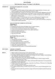 Marketing Manager Sample Resume SEO Marketing Manager Resume Samples Velvet Jobs 24