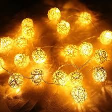 ball fairy lights. cheap christmas lights garlands 4m 20 led rattan ball string fairy lanterns wedding decor party warm white strip outdoor of