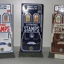 Vintage Us Postage Stamp Vending Machine Amazing Postal Antiques Collectors Weekly