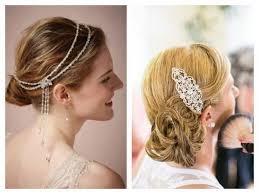 Accessoire Coiffure Mariage Cheveux Courts Elegant