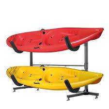 freestanding kayak storage rack