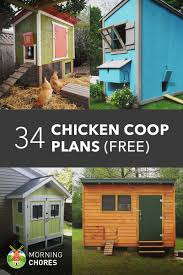 Small Picture 61 DIY Chicken Coop Plans That Are Easy to Build 100 Free