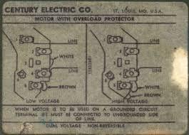 magnetek century ac motor wiring diagram magnetek wiring diagram century electric company motors jodebal com on magnetek century ac motor wiring diagram