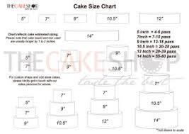 Singapore Size Chart Tcs Cake Chart Sizing Cake Delivery Singapore