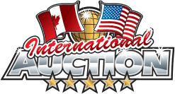 nous achetons logo internation auction