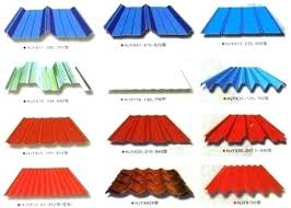 metal roof types pictures of roofing materials corrugated sheet intended for t90