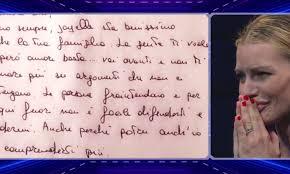 Grande Fratello Vip 2020, lettera d'amore per Licia che ...