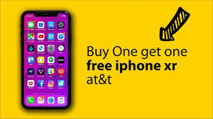 one get one free iphone xr at t