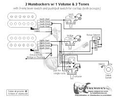 2 humbuckers 3 way lever switch 1 volume 2 tones coil tap school 2 Humbucker 1 Volume Wiring 2 humbuckers 3 way lever switch 1 volume 2 tones coil tap school stuff pinterest taps and guitars wiring diagram 2 humbucker 2 volume 1 tone