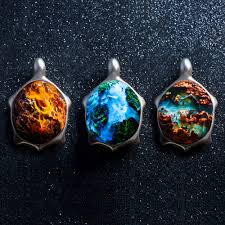 vancouver based jewelers secret wood are known for their fusion of wood and resin to create magical rings their latest creation features more enchanting