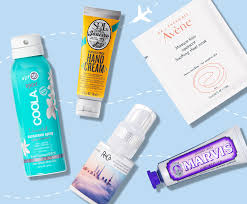 travel beauty essentials i derm