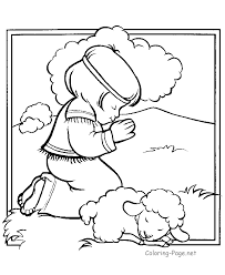 Small Picture Coloring Page Bible FunyColoring