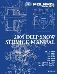 Polaris Torsion Spring Chart 2005 Polaris 600 Rmk 144 Snowmobile Service Repair Manual