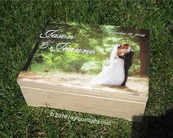 Caja de la memoria caja de recuerdo de boda recuerdo madera | Etsy