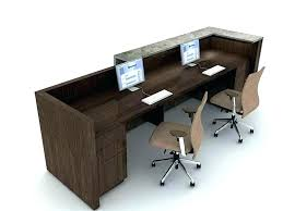 Home Office Designs For Two Beauteous 48 Person Desk Computer Desks For Two Home Office With Modular