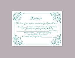 Party Rsvp Template Diy Wedding Rsvp Template Editable Text File Download Printable Rsvp Cards Teal Rsvp Card Template Blue Rsvp Elegant Response Card Dg05